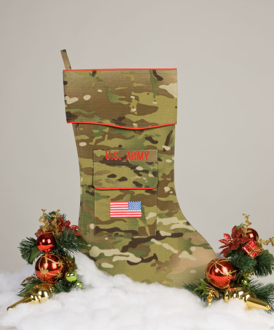 U.S. Army Christmas Stocking Multicam fabric