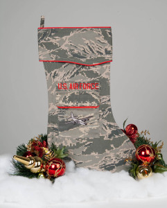 Air Force C-130 Christmas stocking