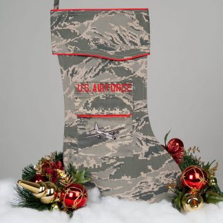 Air Force Christmas stocking