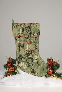 Navy Seabees Christmas Stocking