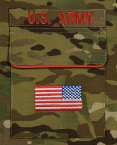 Army Multicam Pocket Detail
