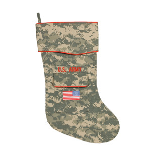 U.S. Army Christmas Stocking - ACU fabric
