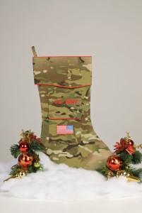 Army Christmas stocking
