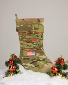 U.S. Army Christmas Stocking Multicam fabric