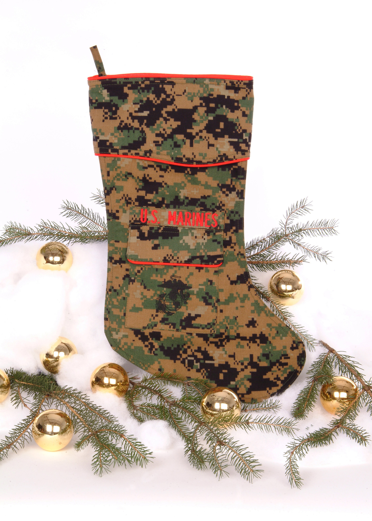 us marine christmas stocking