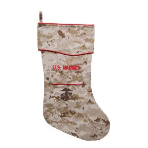 US Marine Corps Desert Christmas Stocking