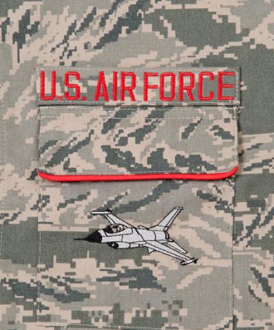 Air Force F16 Pocket Detail