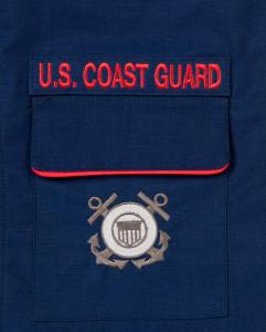 Coast Guard Pocket Detail
