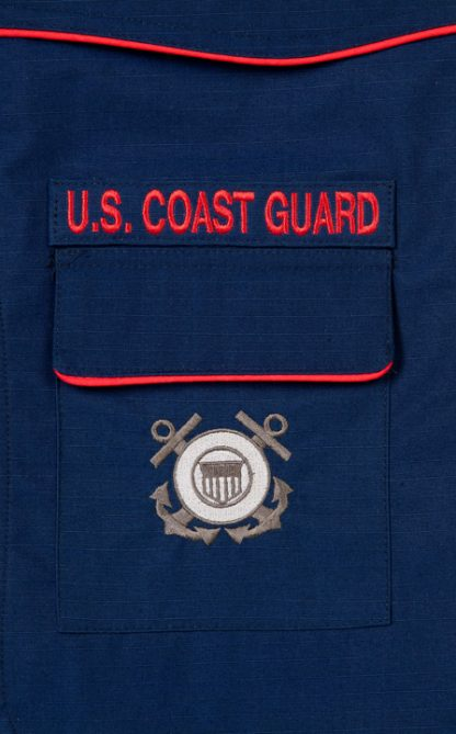 Coast Guard Pocket Detail