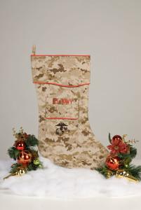 U.S. Navy Corpsman Christmas stocking