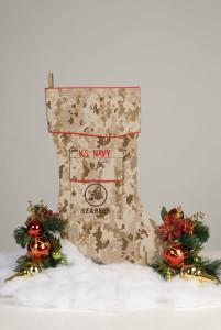 U.S. Navy Seabees Christmas stocking