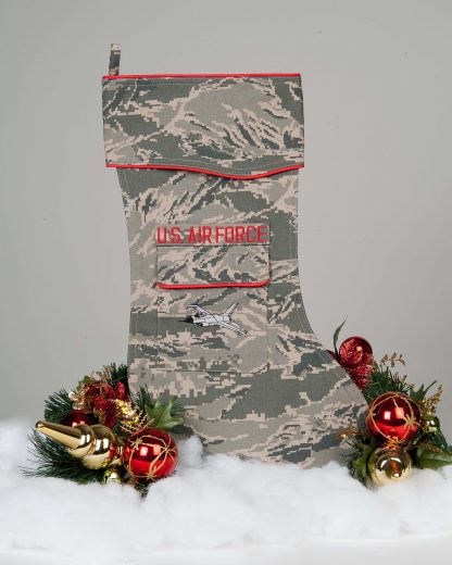 Air Force F-16 Christmas stocking