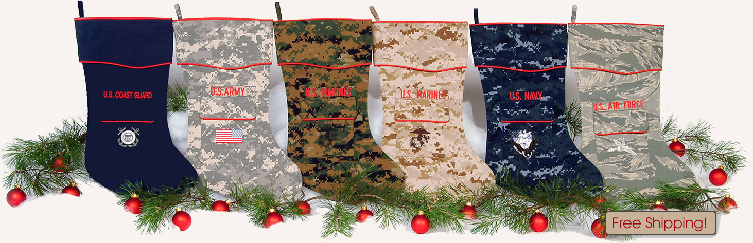 The Military Christmas Stocking Collection
