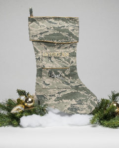 Air Force Mom Christmas stocking