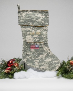 Army Mom Christmas Stocking