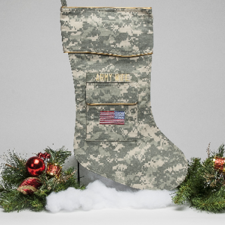 Army Wife Christmas stocking