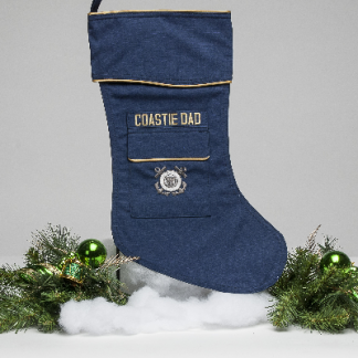 coast Guard Dad Christmas stocking