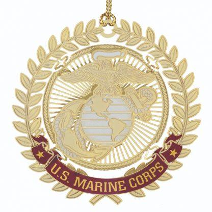 Marine Corps Christmas Ornament