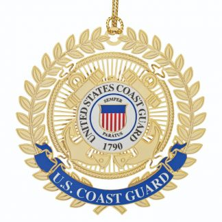 U.S. Coast Guard Christmas Ornament with emblem