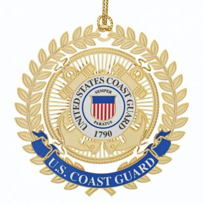 U.S. Coast Guard Christmas Ornament with emblem