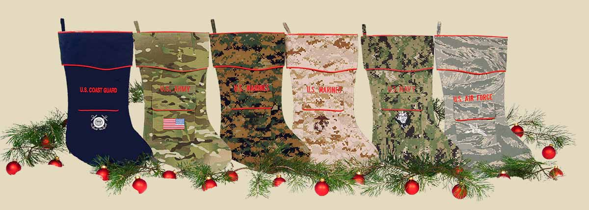 Military Christmas Stockings