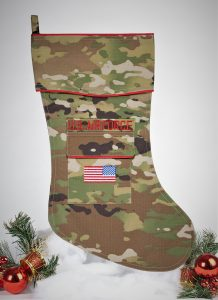 Air Force Christmas Stocking - OCP Uniform Fabric