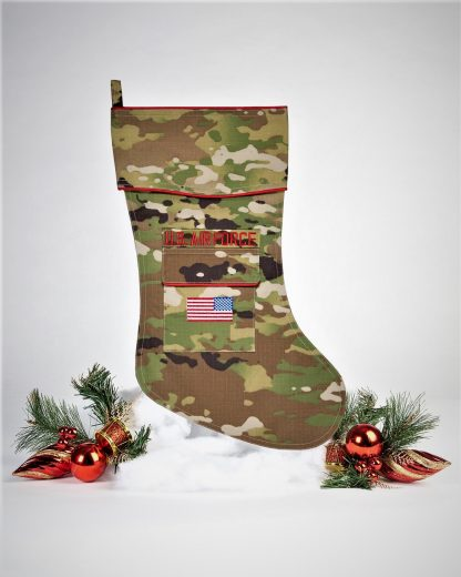 U.S. Air Force Christmas Stocking OCP Fabric