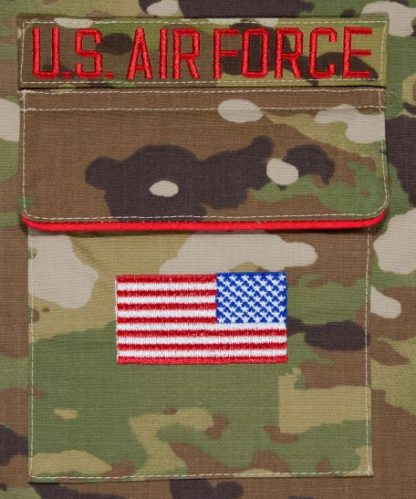 USAF Christmas Stocking Pocket Detail
