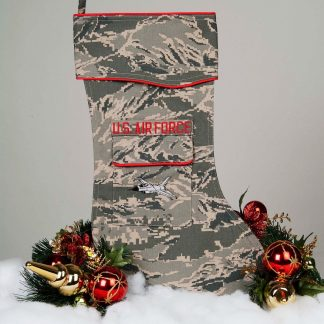 U.S. Air Force Christmas Stocking F-16 Logo
